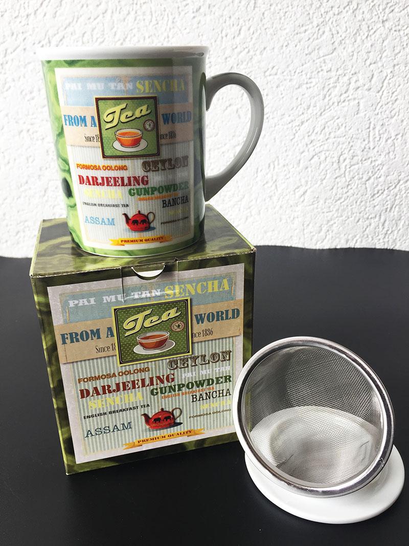 Tisanière TEA