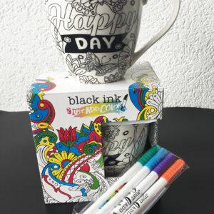 Tasse à colorier